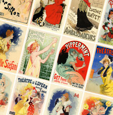 FRENCH VINTAGE ART POSTERS - A4 - A3 - A2 - Retro Prints - Home / Wall Art Decor