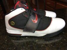 31ba30839b2 NIKE ZOOM SOLDIER IV 4 WHITE RED BLACK USA 407707-100 LEBRON Size 14