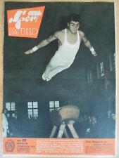 SPORT IM BILD 22 - 30.10. 1959 Turn-EM Ringen Orientierungslauf Hockey Motocross