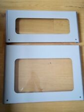 Brand new replacement SILVER/GREY  oven  doors  only.  NEVER USED