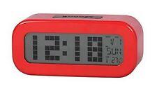 DAEWOO - Montre Réveil numérique Rouge Mesureur Température- DCD-24R Neuf