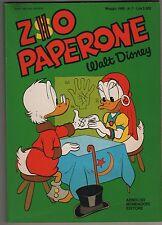 Carl Barks ZIO PAPERONE N.7 mondadori 1988 originale uncle scrooge walt disney