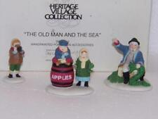 Dept 56 New England Village - The Old Man and the Sea - 3 Pc Set -Rosb