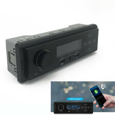 12V 1DIN Car Audio Dash Radio Stereo MP3 Player FM AM Blueteeth USB Charger Read