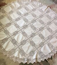 Crouched Round Table Cloth From Germany