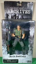 NECA Resident Evil Archive Series 1 Chris Redfield Action Figure New In Box Rare