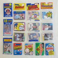 LOT of 236 Sealed Baseball Cards from 1989 - w/ Topps Fleer Donruss Score Bowman