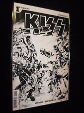 KISS # 1 BLACK AND WHITE VARIANT COMIC from DYNAMITE