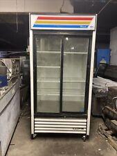 True Gdm33 Used 2 Door Glass Sliding Refrigerator Cooler Merchandiser