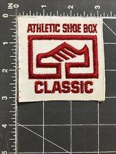 Vintage Athletic Shoe Box Classic Patch Shoebox Big Foot Races Sneakers Tennis