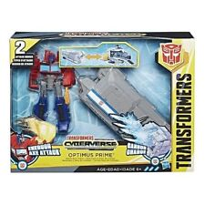 Transformers Cyberverse Optimus Prime Battle Trailer Playset 2 Attack Modes NEW