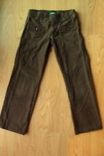 Girls United Colors of Benetton Brown Flap Pocket Casual Pants Size 8