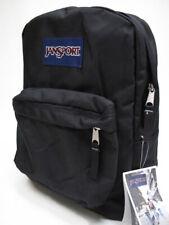 JANSPORT SUPERBREAK (BLACK) BACKPACK MSRP $40- BRAND NEW w/TAGS!!