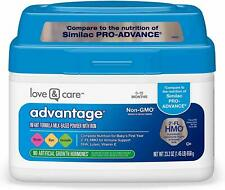 Love & Care Milk-Based Infant Formula Non-Gmo, Gluten-Free, and Certified Kosher