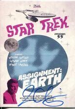 Star Trek Portfolio Prints Ortiz Signed Parallel Base Card  56 Assignment: Earth