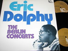 ERIC DOLPHY The Berlin Concerts / US DLP 1978 INNER CITY 3017