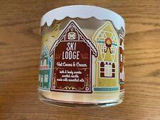 Bath & Body Works SKI LODGE/HOT COCOA & CREAM 3 Wick Scented Candle 14.5 oz