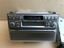 Nissan X Trail T30 CD Stereo Head Unit and Lower Tray in Silver