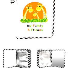 Baby's My Family & Friends First Photo Album - Cute Giraffe Family Theme!