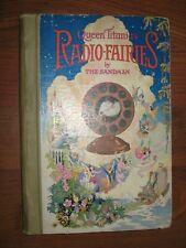 Queen Titania's Radio-Fairies 1924 Pirie Children's Tales Illustrated HC Book
