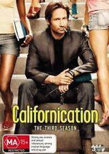 CALIFORNICATION SEASON SERIES THREE 3 DISC SET SHOWTIME REGIONS 2 & 4 DVD L NEW