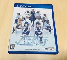 USED PS VITA Root Letter Japan Import game soft From Japan Playstation Vita game