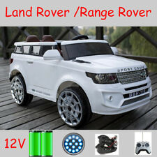 Kids Toy Land Range Rover COUPE Ride On Car 12V 2x Motor 2x Door Leather Seat