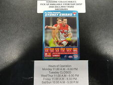 2007 TEAMCOACH BLUE PRIZE CARD NO.51 TADHG KENNELLY SYDNEY SWANS