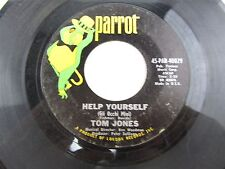 """TOM JONES Help Yourself / Day By Day - 7"""" Record 45 -45-PAR-40029"""