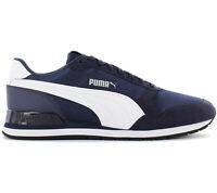 Puma ST Runner V2 Mesh Herren Sneaker 366811-03 Blau Schuhe Freizeit Turnschuhe
