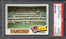 1977 TOPPS #387 N.Y. YANKEES TEAM World Series Champions PSA 10 GEM MINT POP 11
