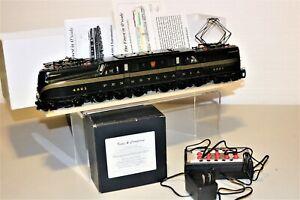 SCARCE O Brass 2 Rail Kohs & Company PRR GG1 - COLLECTOR'S EDITION 148/150 #4901