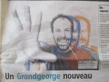 GRANDGEORGE: UN GRANDGEORGE NOUVEAU - 05/11/2018 -