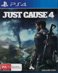 Just Cause 4, Playstation 4, PS4 game Complete, Used