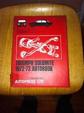 TRIUMPH Dolomite 1972-3 AUTO MANUALE