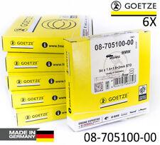 6X BMW Piston Rings M50B25 M52B28 GOETZE 0870510000 E36 E46 E39 325i 525i 528 i