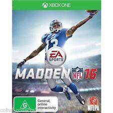 Madden NFL 16 - American National Football League 2016 (Microsoft Xbox One Game)