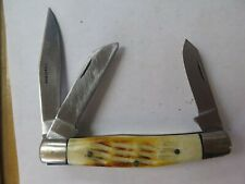 New ListingVintage 3 Blade Stainless Pocket Knife Made in Pakistan