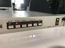 Rare Swat Plus Signal Watcher Analyzer Broadcast Video