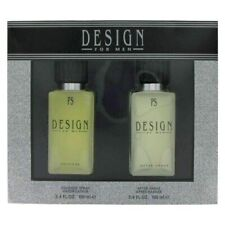 Paul Sebastian DESIGN for Men 2 Piece Pc 3.4oz Cologne +After Shave Gift SET NEW