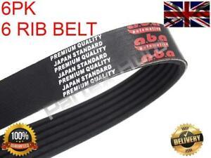 Alternator Drive V-Ribbed Belt 6PK2063 For BMW X3 (E83) 3.0 (2004-2011)