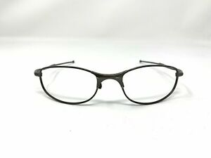 RARE OAKLEY TIGHTROPE SUNGLASSES Pewter Frames Only With Scratches OO4040-02