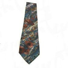 Christian Dior Tie Classic Navy Multicoloured Floral Formal Occasion 281836