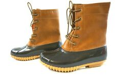 NIB Sporto Women's Tan/Brown Arianna Duck Boots 8 M