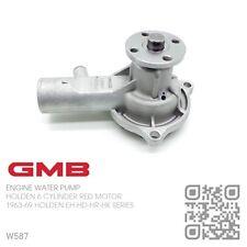 GMB WATER PUMP 6 CYL RED MOTOR SMALL HUB [1963-69 HOLDEN EH-HD-HR & HK MONARO]