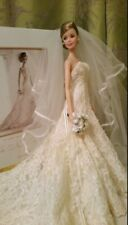 """BARBIE"" Carolina Herrera 2005 SPOSA BRIDE IN CONFEZIONE ORIGINALE Splendida !!!"