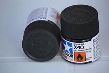 Tamiya Peinture Pot 10ml X10 Gun Metal