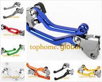 Fit Yamaha TTR230/250 WR250/450 YZ250/426/450/65/85 SEROW Clutch Brake Levers AU