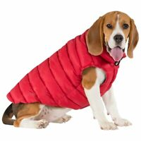 Trespaws  Dog Down Jacket Coat with Zip Winter Warm Dogby