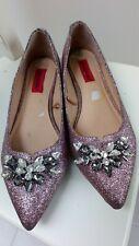 London Rebel Pink Glittery shoes 6